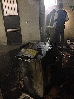 باشگاه خبرنگاران -انبار لوازم خانگی در شهر ری طعمه حریق شد+عکس