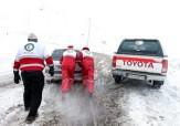 باشگاه خبرنگاران -امدادگران 10 نفر گرفتار در بهمن را در جاده خلخال – پونل نجات دادند