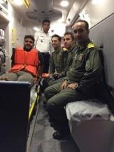 باشگاه خبرنگاران -نجات ملوان هندی توسط بالگرد نیروی دریایی ارتش