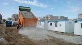 باشگاه خبرنگاران -واکنش ارتش به شایعات درباره واژگونی کانکسها در محله فولادی سرپلذهاب