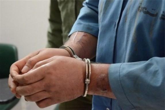 باشگاه خبرنگاران -دستگیری شرور مسلح در مخفیگاهش توسط پلیس دلگان