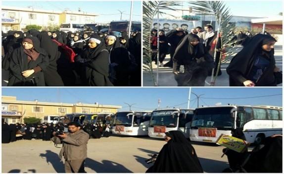 باشگاه خبرنگاران -اعزام سومین کاروان راهیان نور دانش آموزی به مناطق عملیاتی