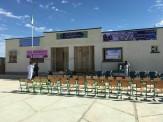 باشگاه خبرنگاران -افتتاح دو مدرسه خیری در بخش لادیز