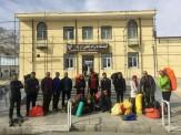 باشگاه خبرنگاران -برگزاری مراسم بدرقه پیکر کوهنوردان مشهدی در ازنا