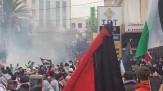 باشگاه خبرنگاران -معترضان لبنانی در برابر سفارت آمریکا در بیروت با نیروهای امنیتی درگیر شدند