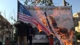 باشگاه خبرنگاران -تجمع دانشجویان امیرکبیر در اعتراض به سیاستهای آمریکا + تصاویر