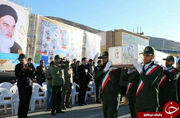 تصاویر تشییع و خاکسپاری شهید مدافع حرم