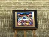 باشگاه خبرنگاران -ثبت اولین مجموعه نقاشیهای پشت شیشه با تصاویر شاهنامه