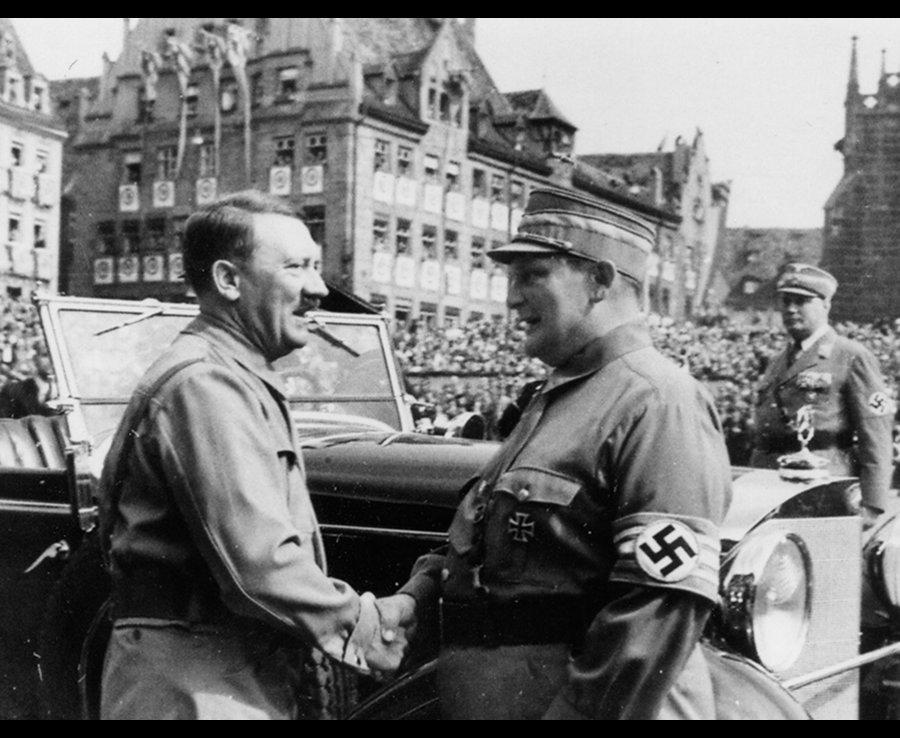 عکس های نادیده هیتلر در آلبوم فرمانده نیروی هوایی آلمان  +تصاویر
