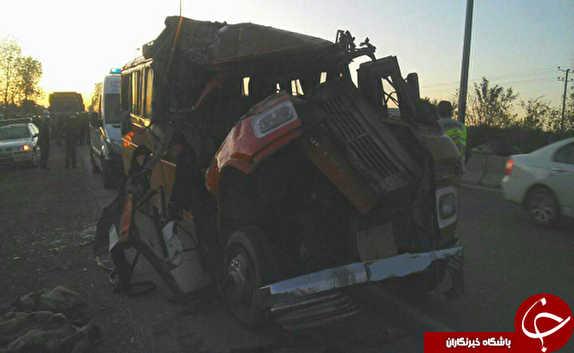 مصدومیت 21 نفر در دو سانحه رانندگی شهرهای نکا و بهشهر+ تصاویر