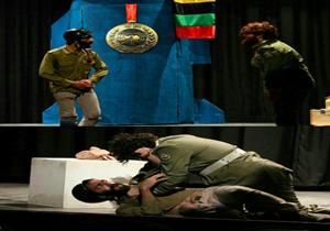 اجرای نمایش «تانگو در قبرستان» در قائم شهر