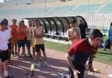 باشگاه خبرنگاران -برگزاری تست آمادگی جسمانی داوران فوتبال در بندرعباس