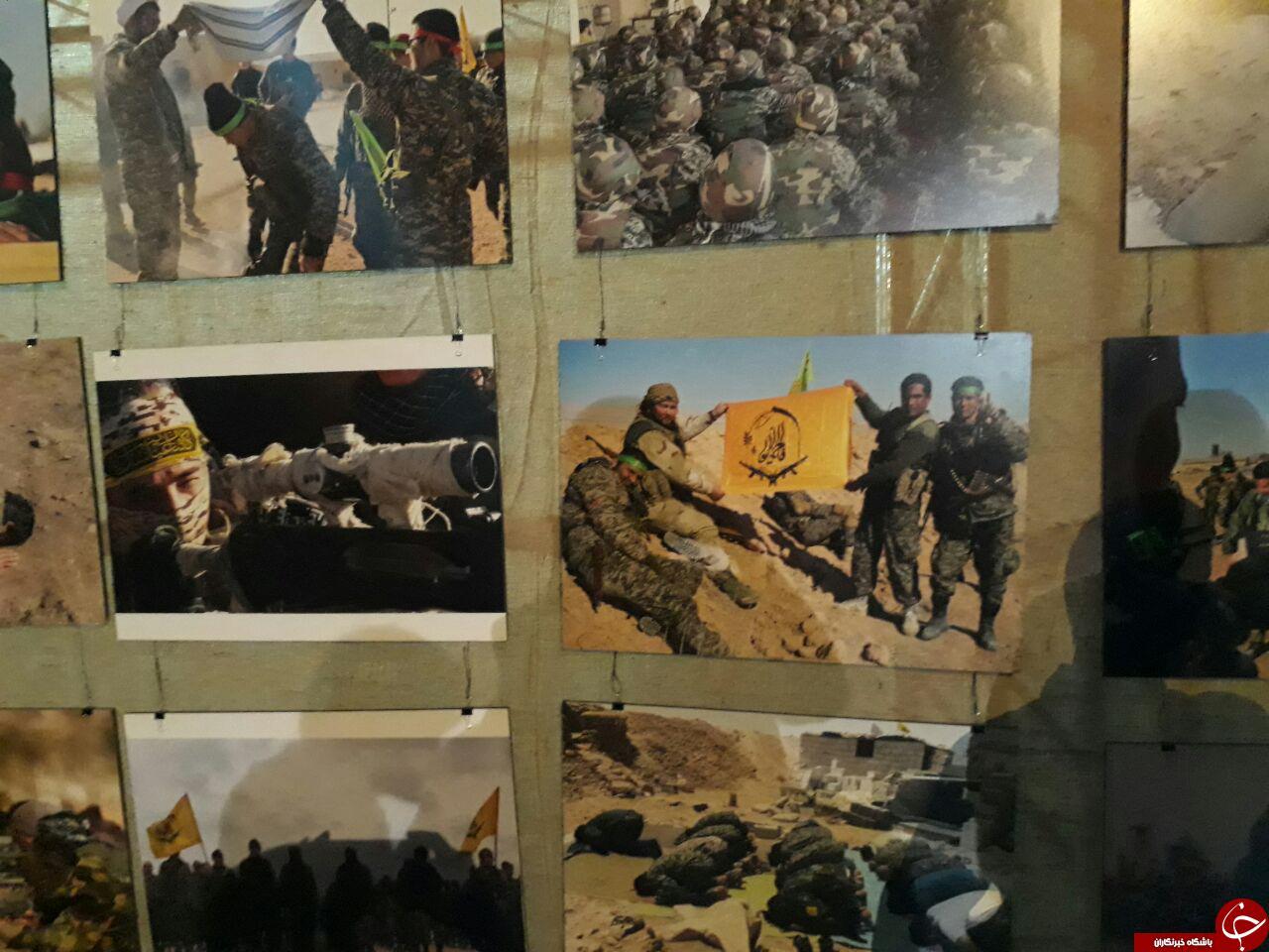 جشن پیروزی جبهه مقاومت توسط مهاجرین افغانستانی در مشهد + تصاویر