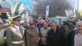 باشگاه خبرنگاران -تشییع شهدای مدافع حرم و دفاع مقدس در مشهد