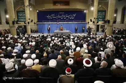 باشگاه خبرنگاران -دیدار شرکتکنندگان در اجلاس محبان اهل بیت (ع) و مسئله تکفیریها با رهبر معظم انقلاب