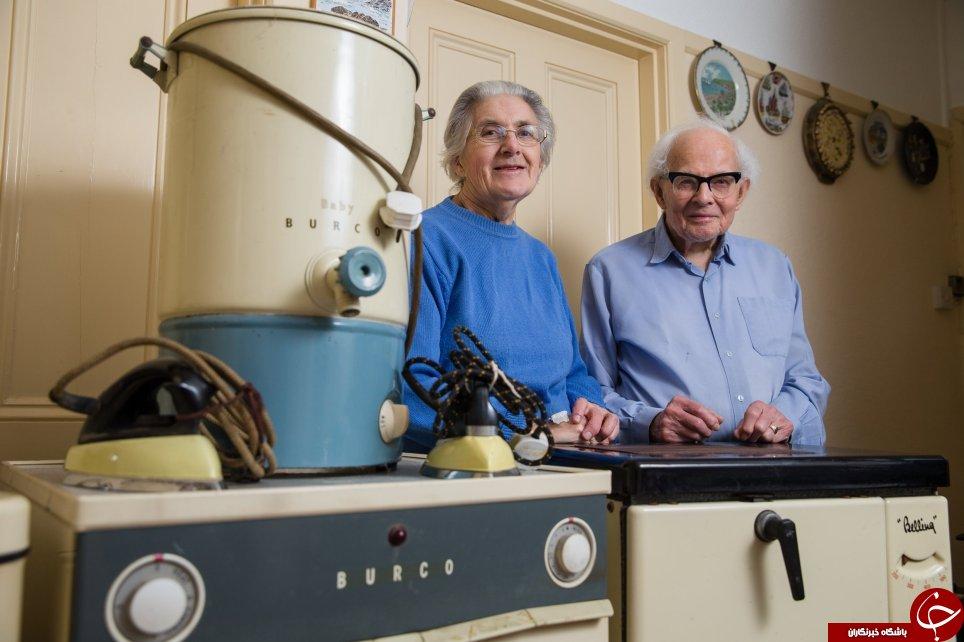 تصمیم جالبی که یک زوج سالخورده برای وسایل خانهشان گرفتند+تصاویر