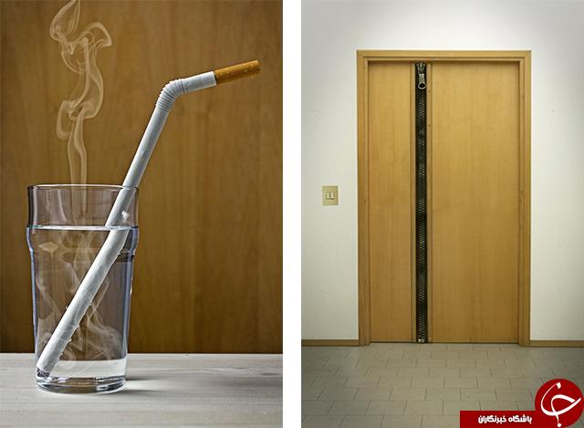 تصاویر عجیبی از ایده های قابل تامل یک طراح!