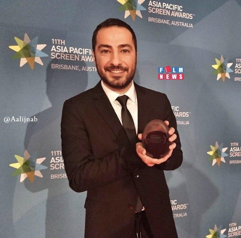 جایزه جهانی دیگر برای نوید محمدزاده/ همدردی دوباره آقای بازیگر با زلزلهزدگان کرمانشاه