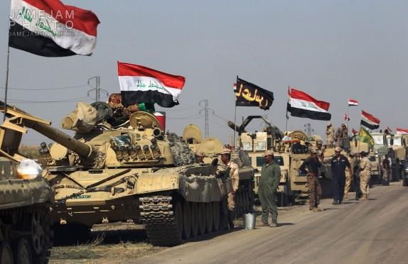 پاکسازی ۷۷ روستا در منطقه الجزیره عراق از لوث تروریستها