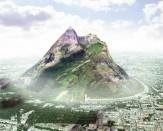 باشگاه خبرنگاران -ایجاد کوه مصنوعی در امارات +عکس