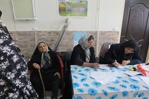 حضور گروه دکتری آستان قدس درمناطق محروم شازند