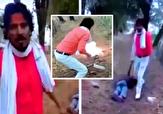 باشگاه خبرنگاران -ویدئویی تکان دهنده از زجرکش کردن یک مسلمان توسط هندوی افراطی +فیلم