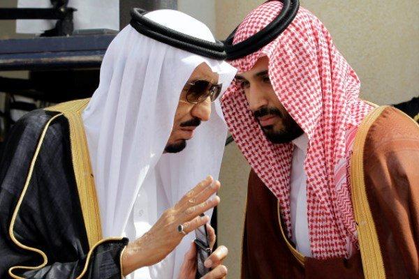 قدم هایی که آل سعود روی خون و خیانت بر می دارد