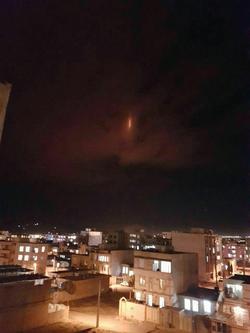 فیلمی دیده نشده از نور قرمز در آسمان ایلام