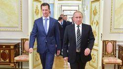 ورود پوتین به سوریه و بازدید غیرمنتظره وی از پایگاه نظامی حمیمیم در لاذقیه+ تصاویر