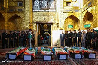 تشییع پیکر کوهنوردان جان باخته در حادثه اشترانکوه در مشهد