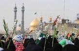 باشگاه خبرنگاران -مراسم استقبال از کاروان نمادین ورود حضرت معصومه(س) به قم