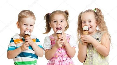بلایی که بستنی بر سر کودک می آورد