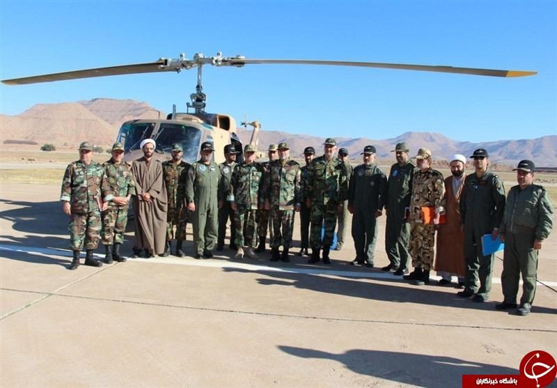 هوانیروز ارتش در حوزه تعمیر بالگردها به خودکفایی علمی رسیده است