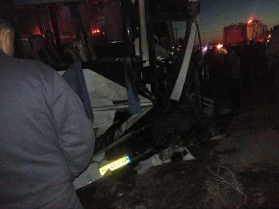 باشگاه خبرنگاران -حادثه تصادف برای یک اردوی دانش آموزی در سوسنگرد/ ۴ کشته و ۲۰ مصدوم