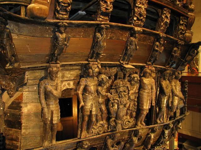 تنها کشتی بازمانده قرن هفدهم را در موزه واسا بینید