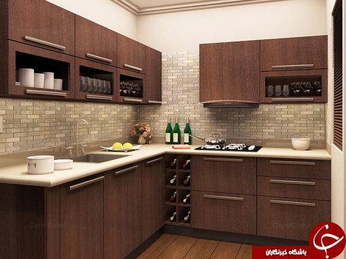 15 مدل دکوراسیون آشپزخانه جدید ایرانی تصاویر