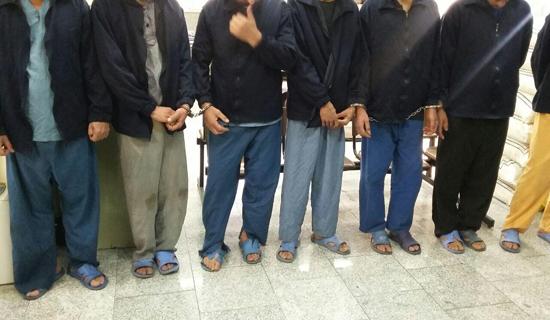 دستگیری باند راهزنان و آدم ربایان در تهران