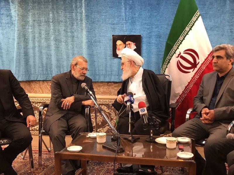 لاریجانی با نماینده ولی فقیه در گیلان دیدار کرد+ تصاویر