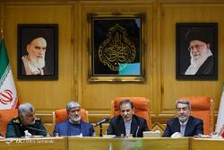 جلسه شورای عالی مدریت بحران کشور