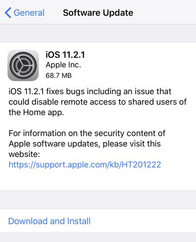 آیاواس 11.2.1 برای عموم منتشر شد