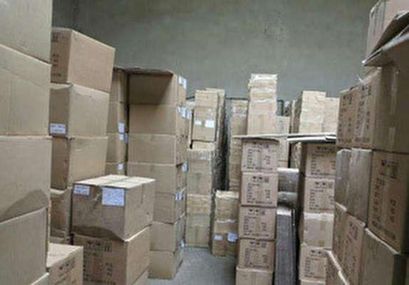 باشگاه خبرنگاران -کشف ۹۱۰ کارتن ظروف چینی قاچاق در چگنی