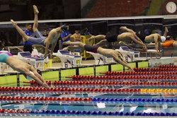 مسابقات شنای قهرمانی مردان کشور