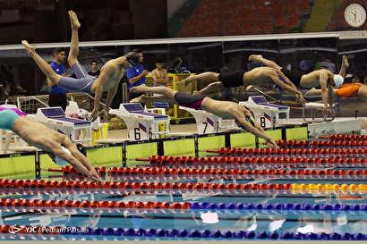 باشگاه خبرنگاران -مسابقات شنای قهرمانی مردان کشور