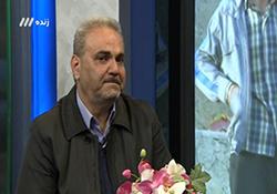 اشکهای خوشحالی جواد خیابانی پس از پایان بازی تیم منتخب ستارگان ایران و پیشکسوتان کرمانشاه+فیلم