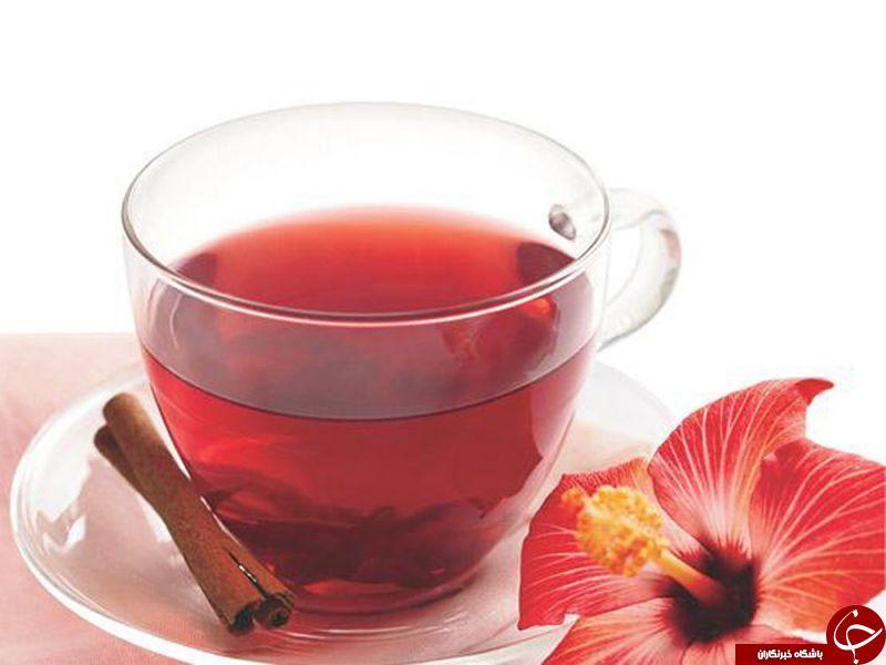 فواید باورنکردی چای گل بامیه برای سلامتی