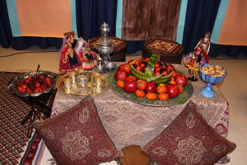 تصاویر سفره سنتی شب یلدا