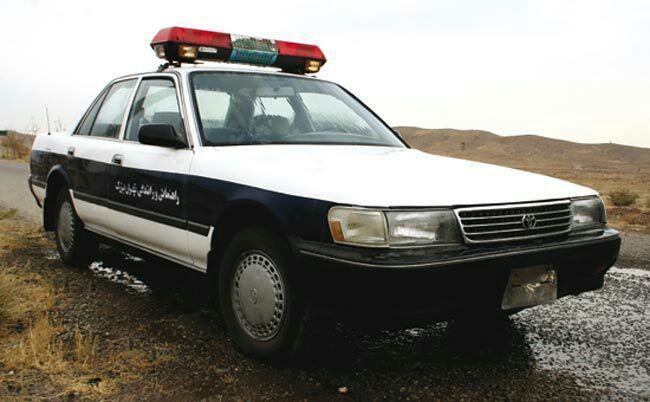 اولین خودروهای پلیس در ایران+عکس