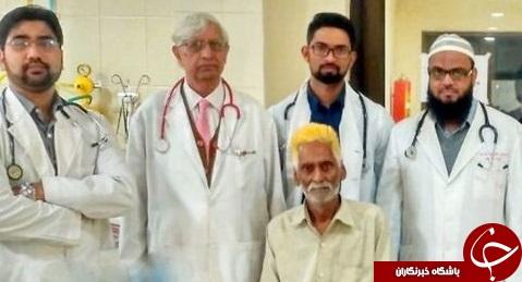 خارج کردن تومور ۳ کیلوگرمی از بدن مردی ۶۵ ساله