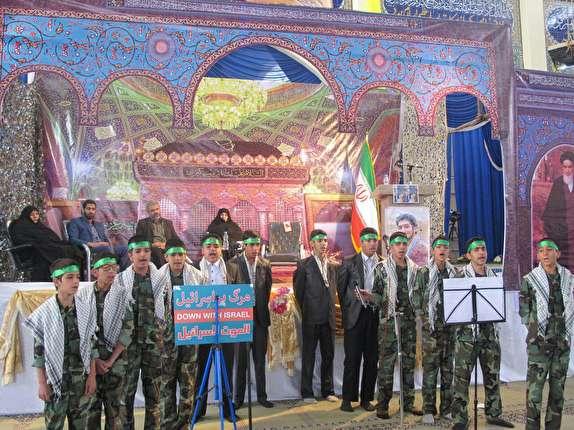 باشگاه خبرنگاران -برگزاری جشن پیروزی جبهه مقاومت در شهربابک