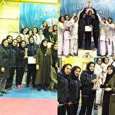 باشگاه خبرنگاران -رفسنجان پرچم دار لیگ کاراته کشور